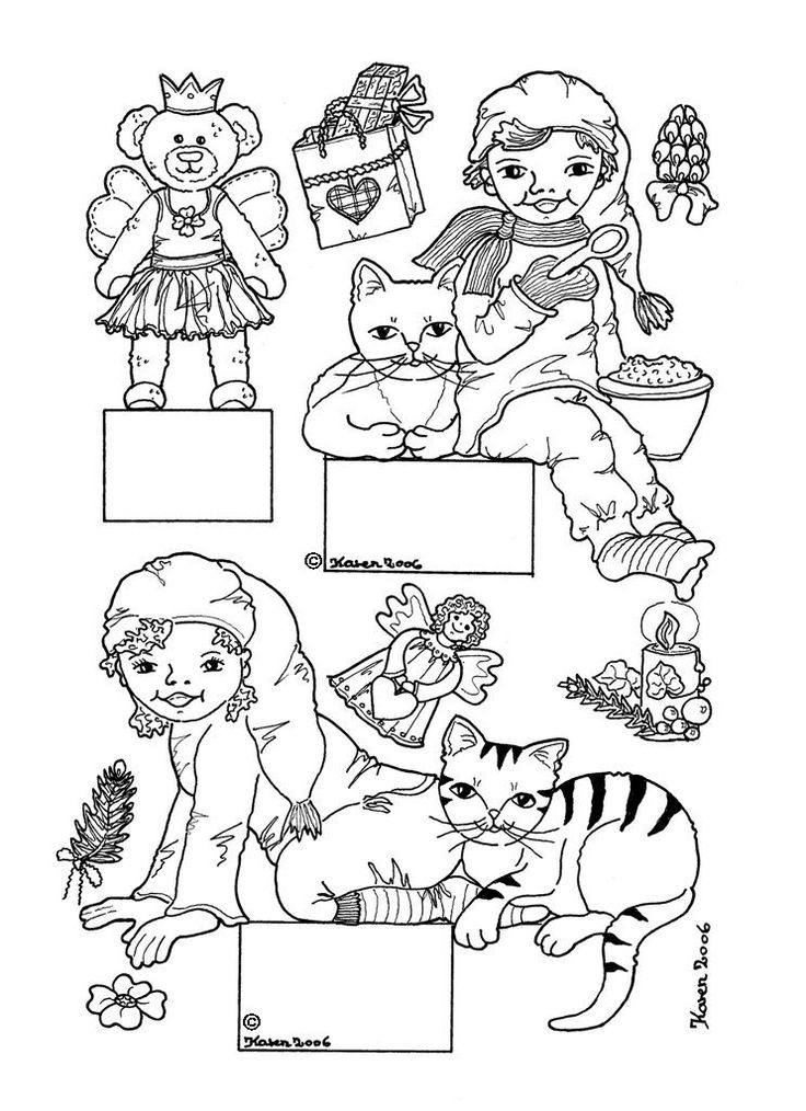 nisse coloring pages - photo#23