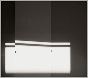 Composition #12 from: Compositions of Light on White, 2011, by Uta Barth