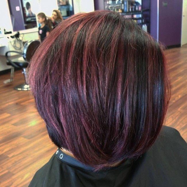 1000 Ideas About Short Burgundy Hair On Pinterest
