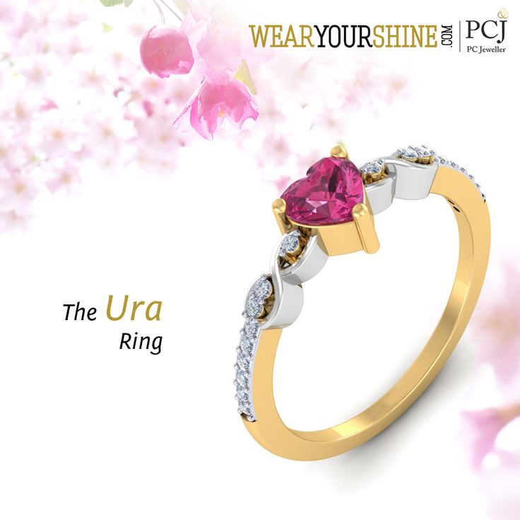 """Let colors bring the best in your life. Add some gems to your collection with """"The Ura Ring"""" on WearYourShine  #WearYourShine #PCJeweller #Love #Happiness #Rings #Diamond #Gemstones #Jewellery #IndianJewellery"""