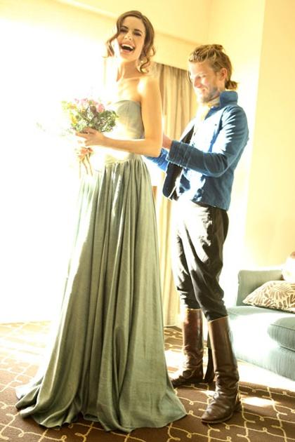 bridesmaidsEco Design, Carpets Challenges, Eco Fashion Talk, Eco Celeb, Bridesmaid Dresses, Colin Firth, Livia Firth, Jeff Garner, Ofw Eco Fashion