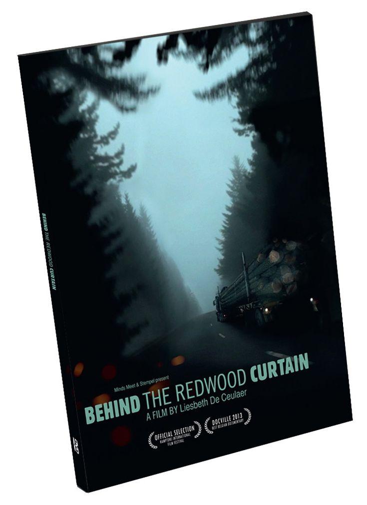 """Behind the Redwood Curtain // DaltonShop.be  // 15€ // Liesbeth De Ceulaer // """"Op cinematografisch verbluffende wijze brengt ze het verhaal van houthakkers, milieuactivisten, indianen, wetenschappers en mensen die niets liever willen dan door de gigantische bomen van de buitenwereld te worden afgeschermd."""" (De Standaard) //  #RedwoodForrest //  #WinnaarDOCVILLE2013 //"""