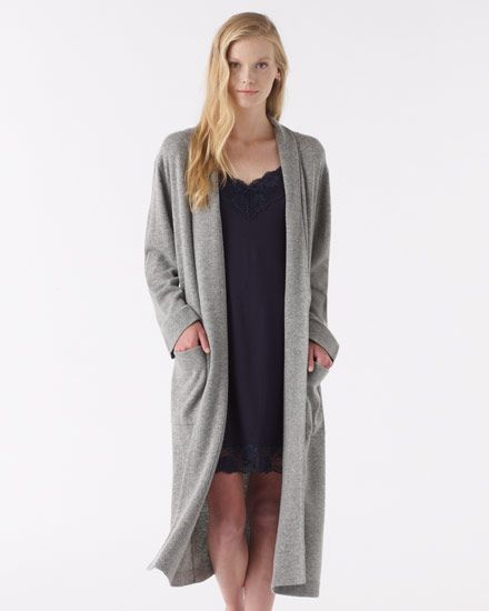 Long sweater robes