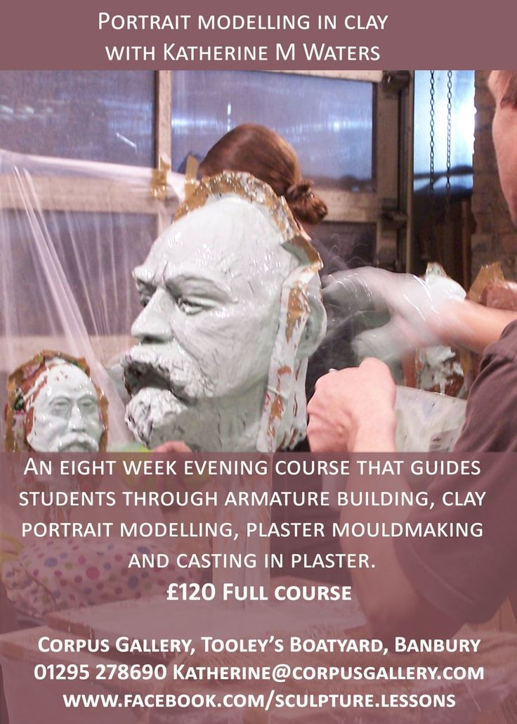 Beginners sculpture course with Katherine M Waters