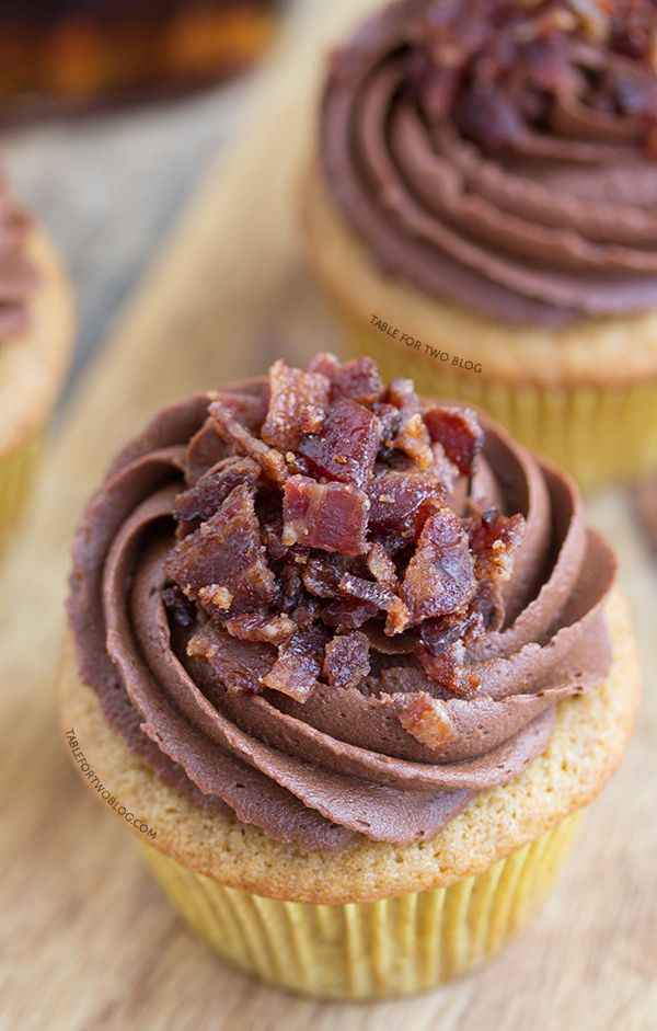 These maple bacon cupcakes from Lindsay Landis' cookbook, Breakfast for Dinner, is everything you could want in a cupcake!
