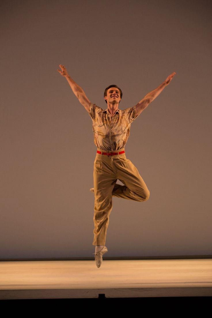 Joel Woellner in Paul Taylor's Company B performed by Queensland Ballet