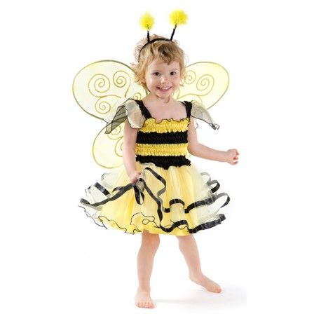 Bumblebee Dress, by Great Pretenders. Turn them all into busy bees, preoccupied with having fun with in this bumblebee dress. With contrasting black and yellow from top to bottom, all trimming is finished exquisitely in black. Complete the look with the Bumblebee Wings & Headband. Wings and Headband sold separately. (CDN)$25.00