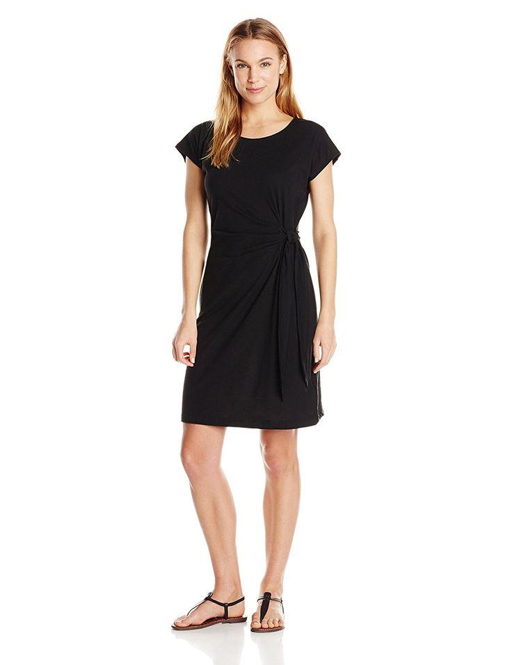 This is my basic black dress: ExOfficio Women's Salama Dress, Black
