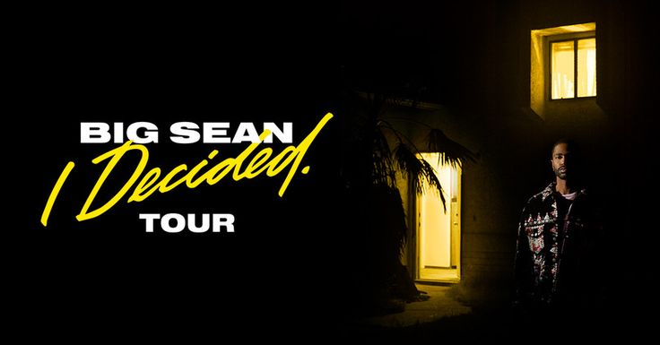 I just entered for a chance to win 2 tickets to Big Sean at The Ritz on Sunday, April 16th!