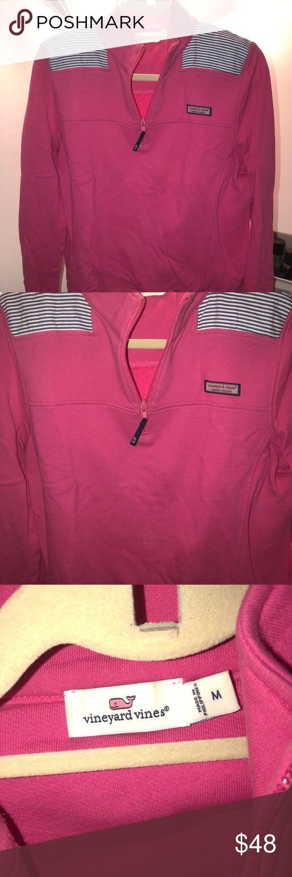 Vineyard Vines Pink Shep Shirt Vineyard Vines Pink Shep Shirt !!! No flaws !!! Like new Vineyard Vines Tops Sweatshirts & Hoodies