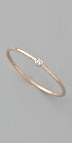 another teeny diamond ring...