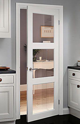 Puerta para cocina color chocolate