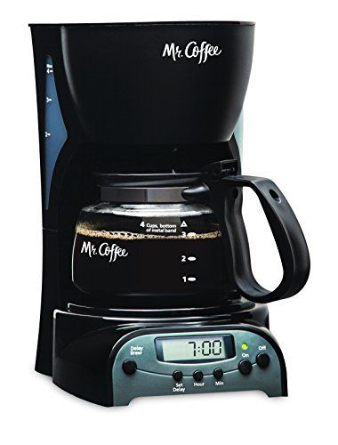 Mr Coffee 4Cup Programmable Coffeemaker DRX5 ** You can get additional details at the image link.