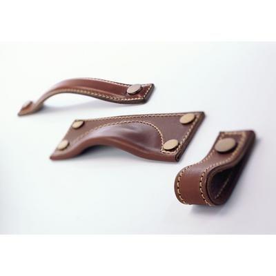 leather drawer pulls