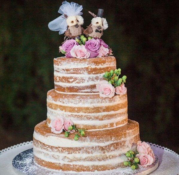 Идеи дизайна торта для весенне-летней свадьбы (фото) #свадьба #торт #свадебныйторт #подготовкаксвадьбе