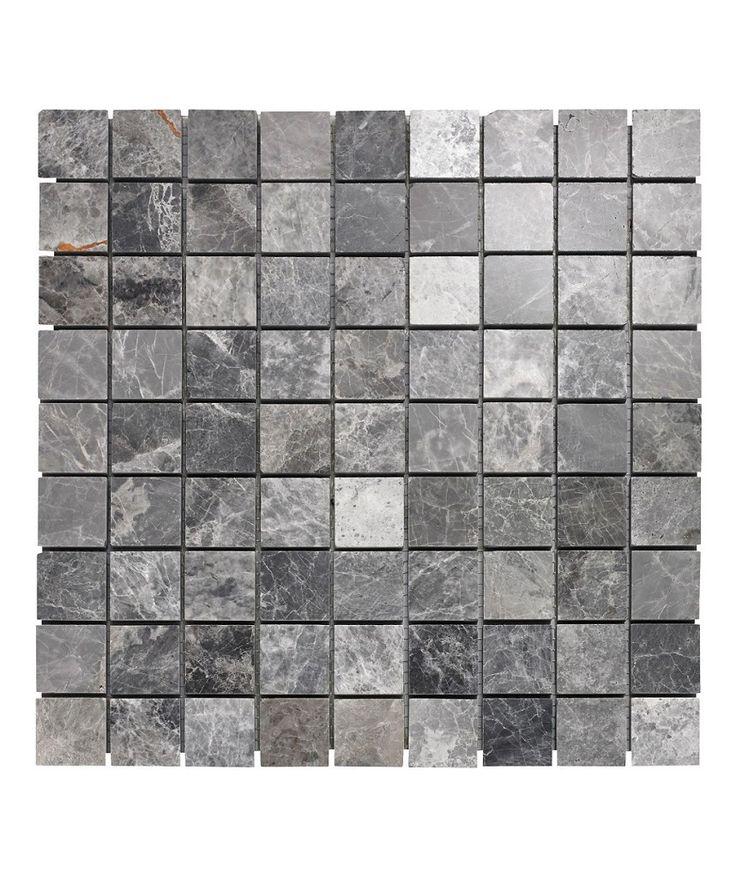 Lantau Grey Mosaic Tiles For Kitchen