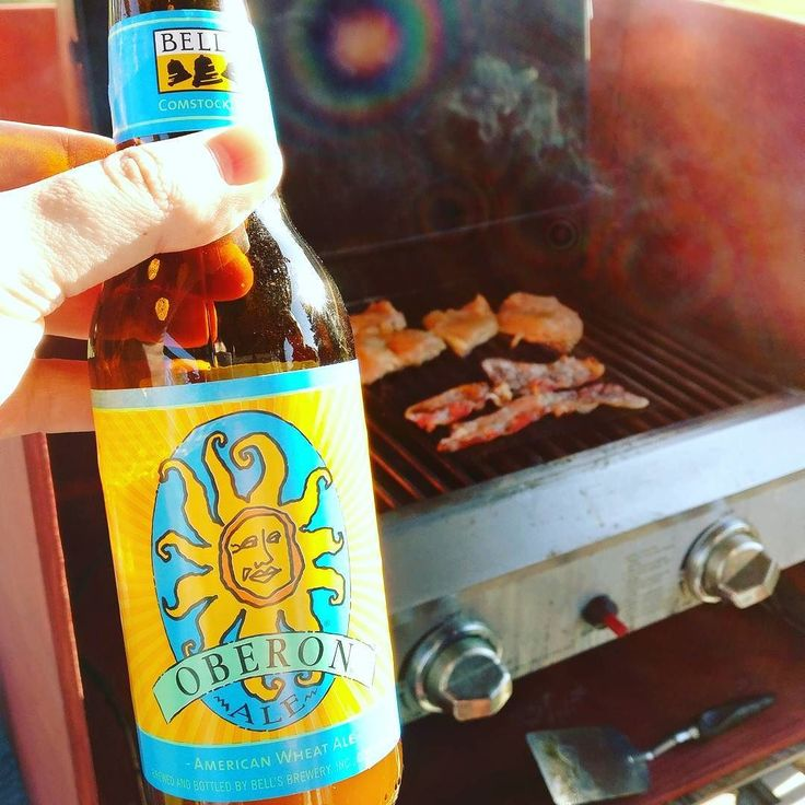 It was Oberon day on Monday! Which of course means it's summer in Michigan. Don't mind that it was only a few degrees above freezing.