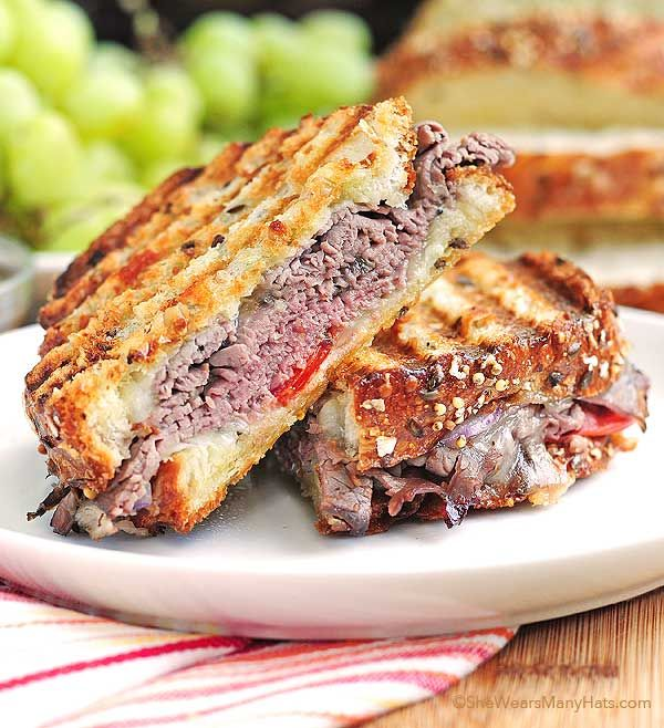 8 recettes parfaites de panini - LINEN CHEST