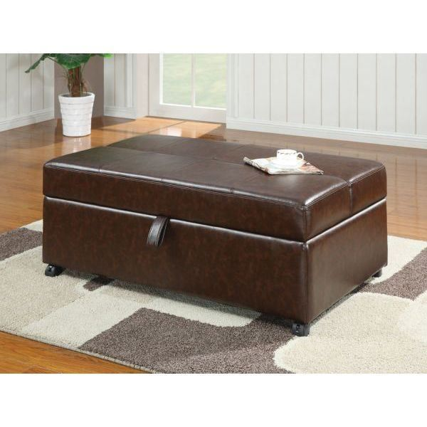 Brown Ottoman W/Sleeper *D by Coaster Company Of America is now available at American Furniture Warehouse. Shop our great selection and save!