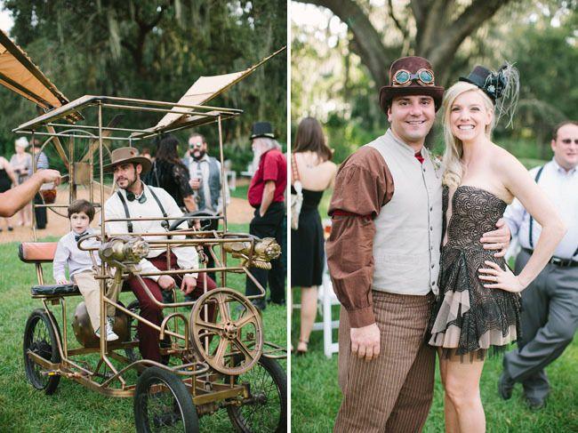 Ники и Лео: свадьба в стиле стимпанк