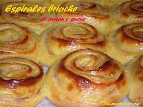 Espirales brioche de jamón y queso - http://www.thermorecetas.com/2013/10/30/espirales-brioche-de-jamon-y-queso/