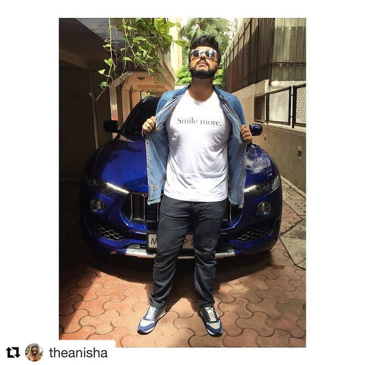 #Repost @theanisha (@get_repost) ・・・ When you find the most perfect tshirt for @arjunkapoor! In a @zara tshirt, @scotch_official