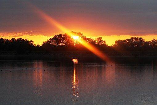 Západ Slunce, Lichtspiel, Sun