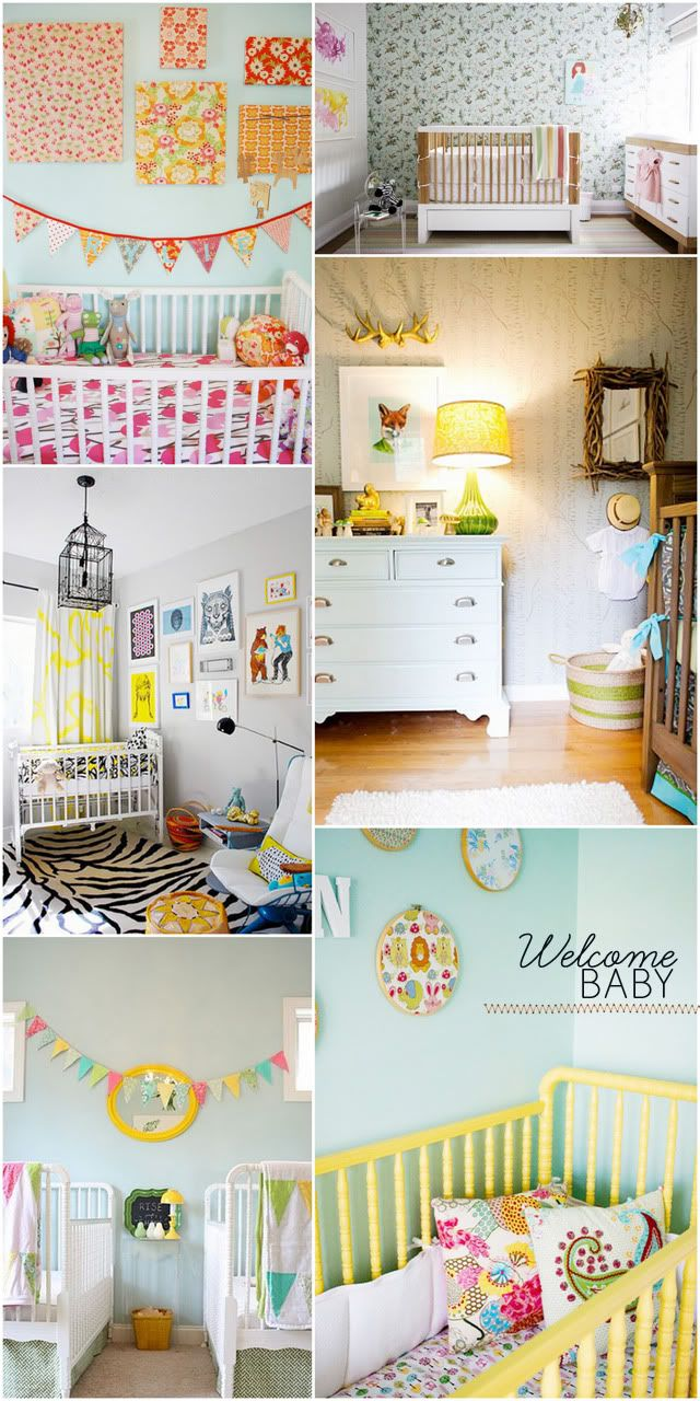 Nursery: Kids Stuff, Nursery Ideas 3, Pretty Baby, Baby Rooms, Colorful Nurseries, Eclectic Nursery Ideas, Colourful Nursery Ideas, Baby Stuff