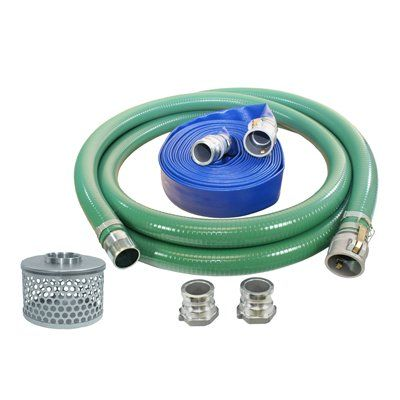 International Power Systems Inc. 1240-KIT Quick Connect Water Pump Hose Kit