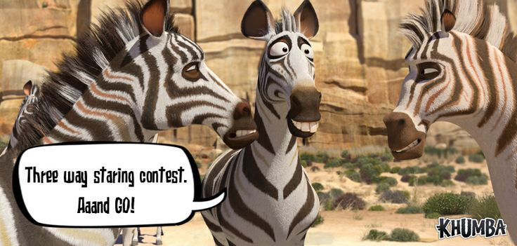 """And the WINNER is...Jacob D Johnston! We totally thought your caption rocked!  You sure """"Earned your Stripes"""" and WON in FRIDAYS FUN CAPTION CHALLENGE !   #TheNigelChallenge #CaptionThis1   Have you heard the NEWS?? ALL NEW KHUMBA GAMES & DVD""""S are COMING SOON!!"""