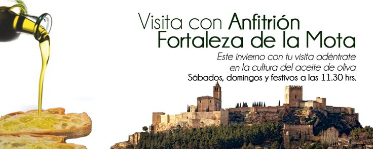 Visita con Anfitrión por la Fortaleza de la Mota. Alcalá la Real, Jaén sábados, domingos y festivos a las 11,30h