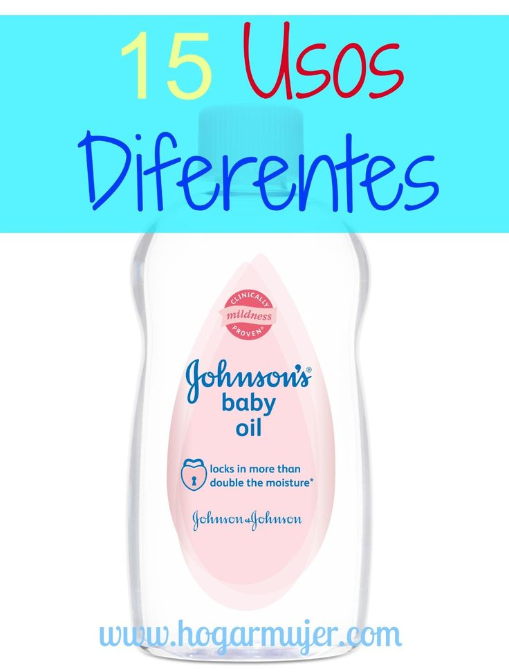 Usos para el aceite de bebe