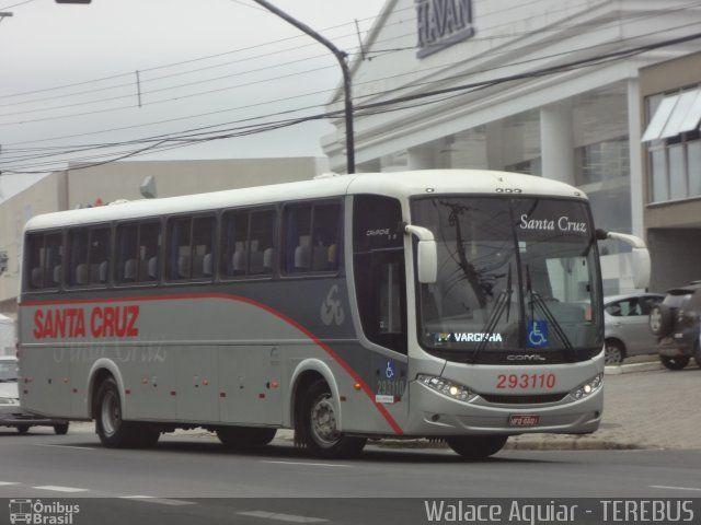 Ônibus da empresa Viação Santa Cruz, carro 293110, carroceria Comil Campione 3.45 2011, chassi Mercedes-Benz O-500M. Foto na cidade de Juiz de Fora-MG por Walace Aguiar - TEREBUS, publicada em 04/11/2016 12:55:31.