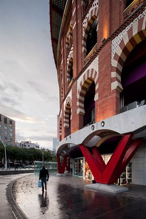 www.arqfoto.com © Simon Garcia | Fotografía de arquitectura · Architectural photography | Las Arenas · Richard Rogers & Alonso-Balaguer