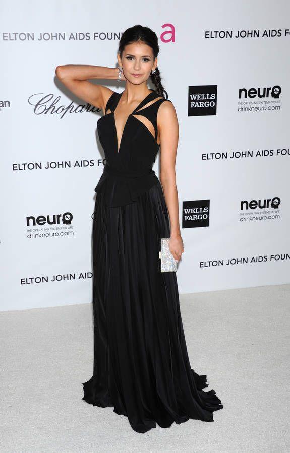Nina dobrev Gala Elton John