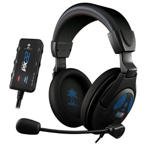 BUY NOW Amplified Universal Stereo Sound Gaming HeadsetView larger Complete Product Description Totally immerse yourself and focus on the task at hand with the Ear Force PX22. As an official headset of Major League Gaming, this amplified stereo headset is sure to take your play to another level with awesome Turtle Beach sound and comfort for hours of play. Plus, it ll work with virtually anything you throw at it: from PlayStation 3 and Xbox 360 t
