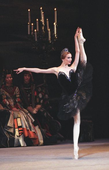 "Svetlana Zakharova as Odile in ""Swan Lake"" (Bolshoi Ballet). Photo by Nadezhda Bausova"