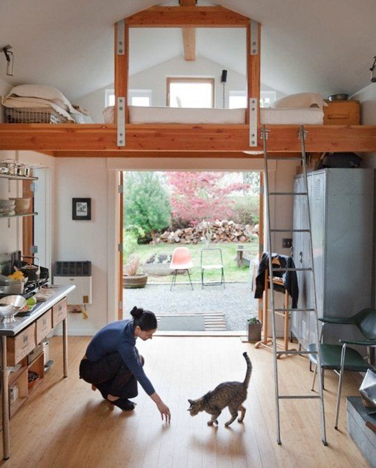 9 Times Garage Makeovers Became the Most Adorable Homes Ever | Apartment Therapy