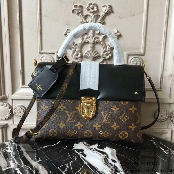 Louis Vuitton M43125 One Handle Flap Bag MM Shoulder Bag Monogram Canvas 9a6d6e568fba9