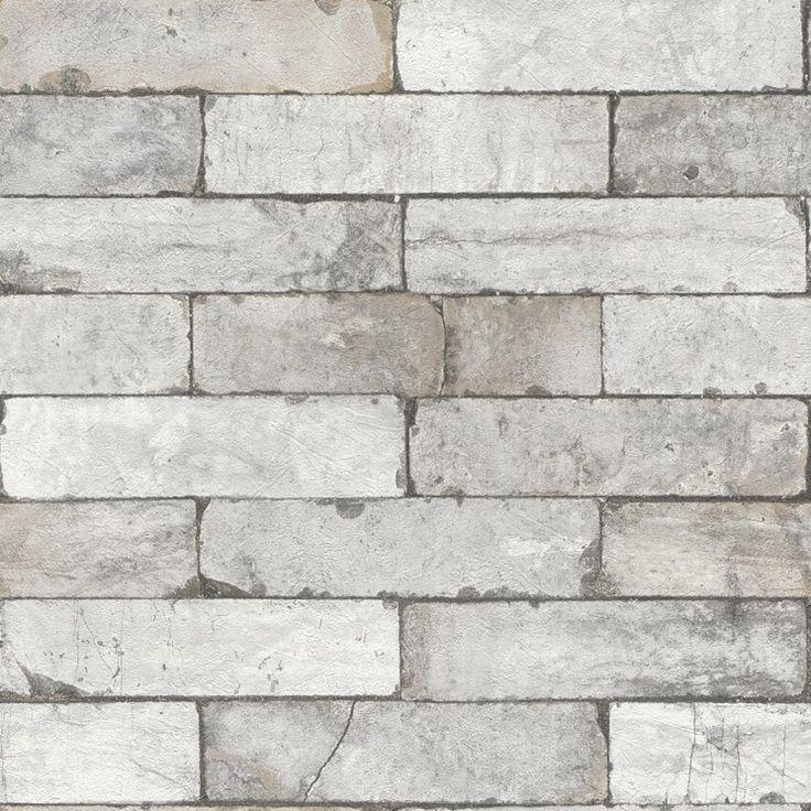 17 mejores ideas sobre paredes de ladrillo de imitaci n en - Papel pintado imitacion piedra ...