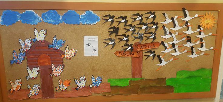 Erika Muló Tőlünk is elrepültek a költözőmadarak - vegyes csoport: 3-6 évesek munkái-
