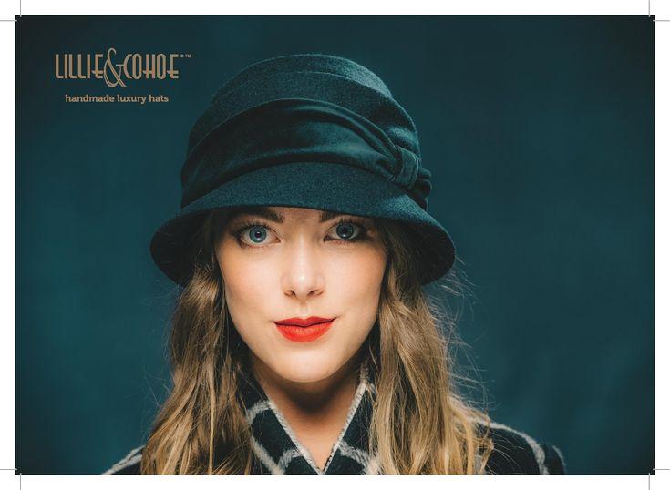 Lillie & Cohoe Wool Classic: Freda Velvet ~ Navy
