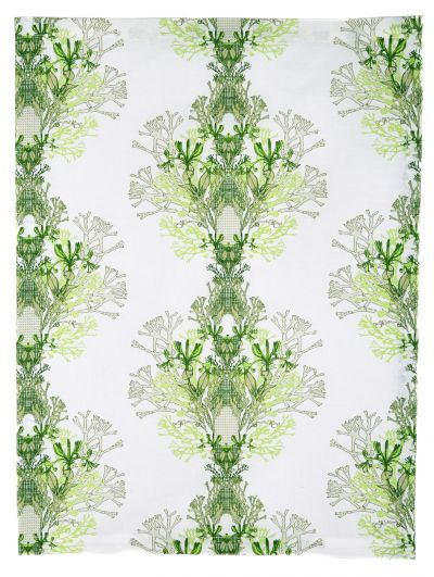 Mairo green Fager print, designed by Anna Backlund.