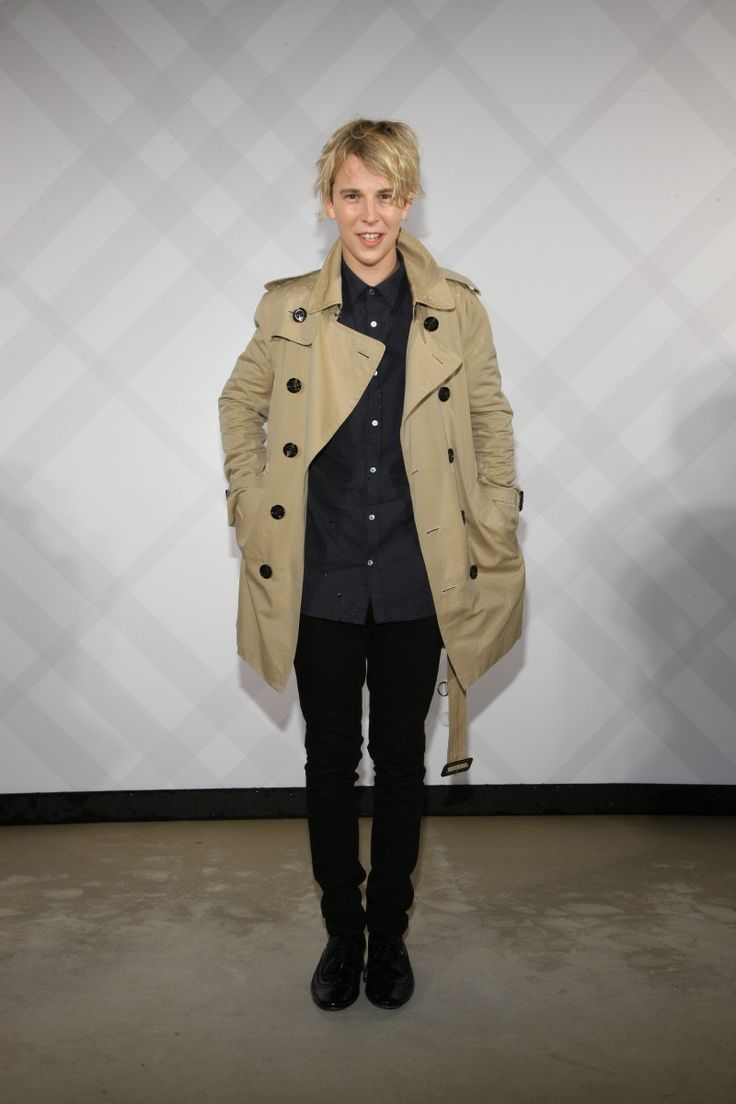 Tom Odell in Burberry