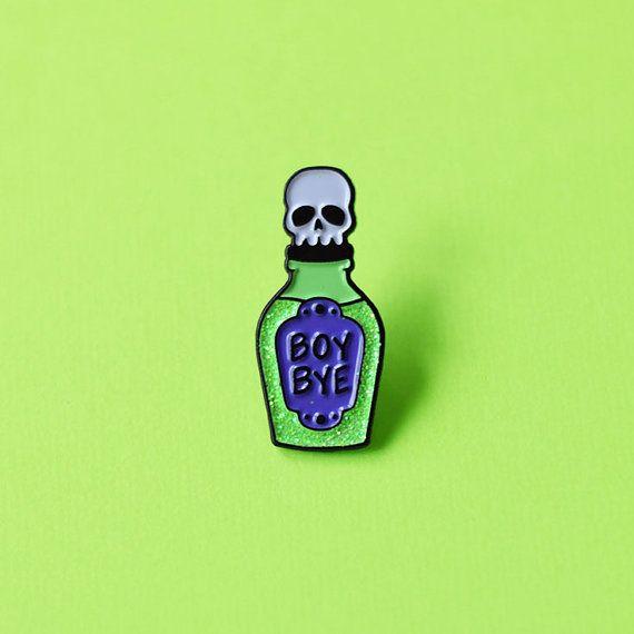 Jongen Bye vergif glazuur Pin Lapel pins door TeesAndTankYouShop