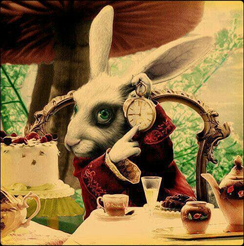 """""""My dear, here we must run as fast as we can, just to stay in place. And if you wish to go anywhere you must run twice as fast as that."""" ― Lewis Carroll, Alice in Wonderland"""