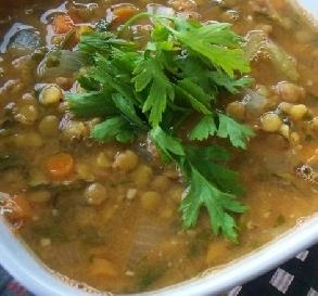 "Hearty Vegetarian Lentil Soup: ""This soup is earthy and so satisfying. I make it at least once a month and it gets better as it sits."" -kiwiwife"