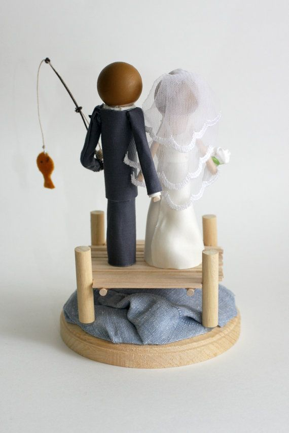 25 Best Ideas About Fishing Wedding Cakes On Pinterest