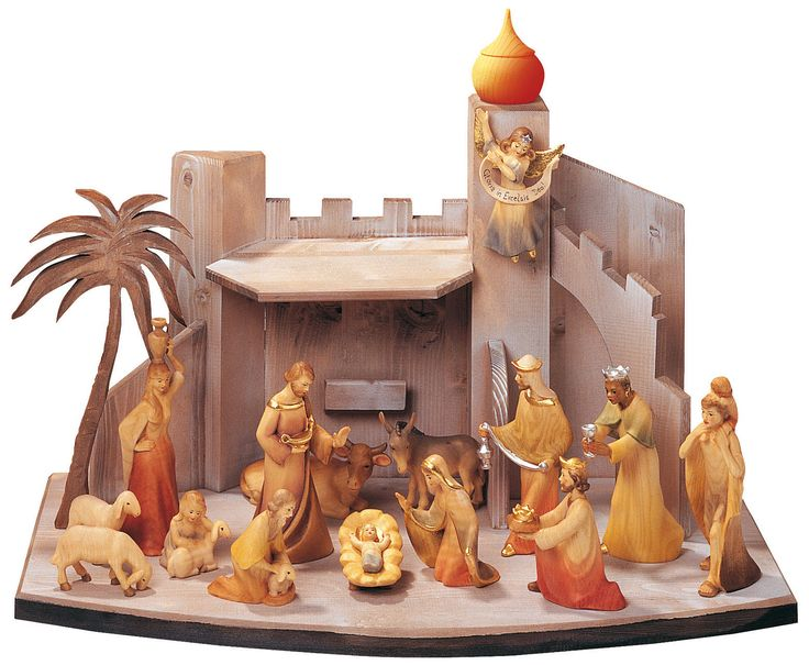 Best Weihnachtskrippen Images On Pinterest Books Silhouette - Hipster nativity set reimagines the birth of jesus in 2016