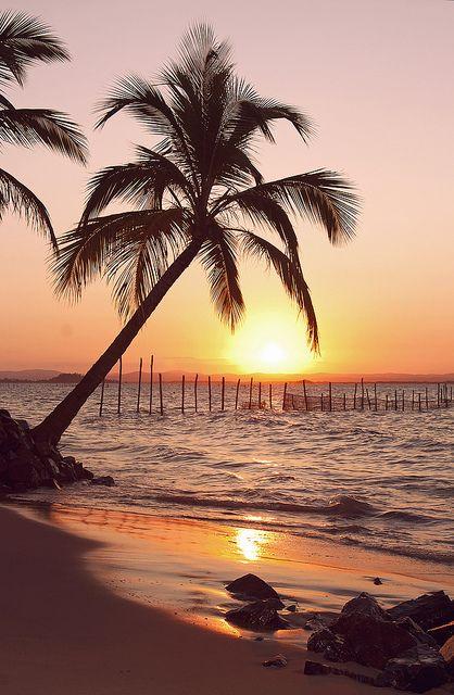Por do Sol. Maraú, Brasil | Flickr: Intercambio de fotos